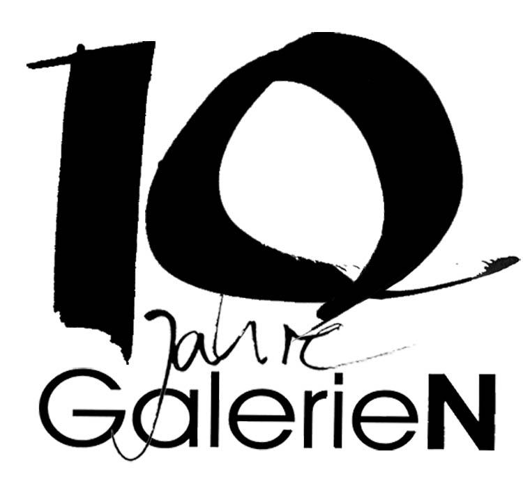 Logo Jubiläum GalerieN 2013