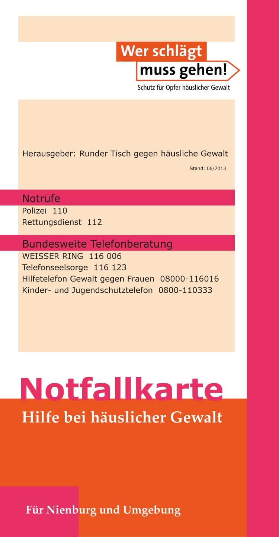 Notfallkarte 2014