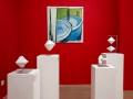 """Ausstellung """"Geometrie und Geste"""", 2018"""