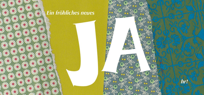 Ein fröhliches neues Ja (hr)!