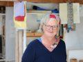 Hilda im Atelier